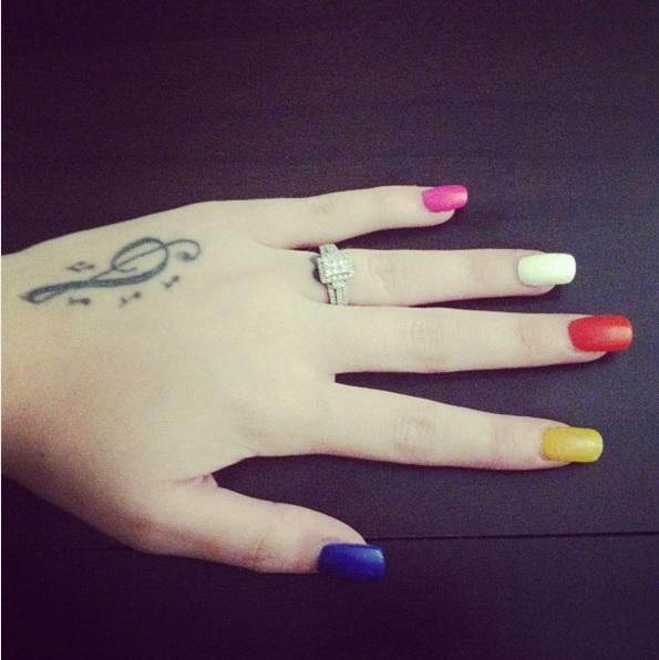 Credit: Cher Lloyd/Instagram
