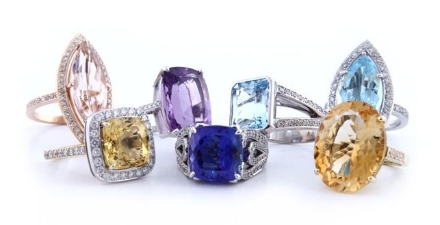Semi-Precious-Stones-Jewellery-Including-Coloured-Gemstones