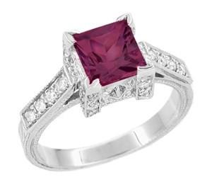 rhodolite-engagement-ring
