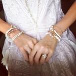 Jessica Michibata's 5 Carat Pear Shaped Diamond Ring