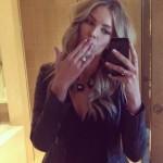 Jennifer Hawkins' 5 Carat Round Brilliant Cut Diamond Ring