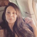 Lauren Kitt's 7 Carat Pear Shaped Diamond Ring