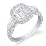 Whitney Bischoff's 4 Carat Emerald Cut Diamond Ring
