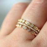 Trend Alert: Stacked Rings