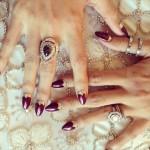Nicole Richie's 4 Carat Brilliant Cut Diamond Ring