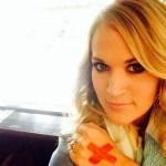 Carrie Underwood's 12 Carat Round Brilliant Cut Diamond Ring