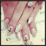 Kelly Osbourne's Round Diamond Ring