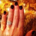 Lauren Parsekian's Cushion Cut Diamond Ring