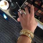 Anna Paquin's 5 Carat Rough Cut Rustic Diamond Ring