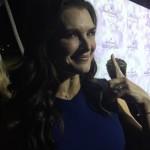 Brooke Shields' Cushion Cut Diamond Ring