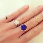 Kate Bosworth's Square Cut Diamond Ring