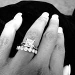 Naomi Knight's Princess Cut Diamond Ring