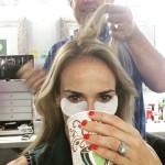 Heather Mitts' Emerald Cut Diamond Ring