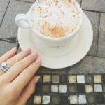 Jessie James' Round Cut Diamond Ring