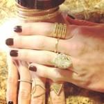 Meghan King's Pear Shaped Yellow Diamond Ring