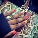 Yonka Triche's Emerald Cut Diamond Ring