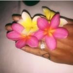 Chloe Lloyd's Round Cut Diamond Ring