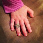 Molly Malaney's Oval Cut Diamond Ring