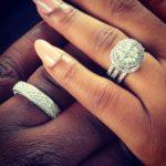 Simi Osomo's Round Cut Diamond Ring