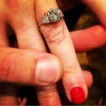 Hannah Curlee's Round Cut Diamond Ring