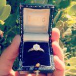 Tricia Davis' Round Cut Diamond Ring