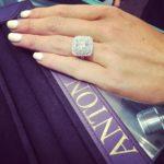 Jessie Habermann's Square Shaped Diamond Ring