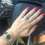 Erica Rose's Round Cut Diamond Ring