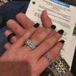 Natalie Marie Nelson's Cushion Cut Diamond Ring
