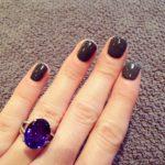 Sinead Kenny's Oval Cut Sapphire Ring
