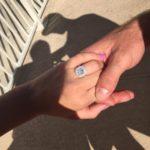 Sydney Rae James' Cushion Cut Diamond Ring