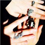 Karen O's Oval Cut Diamond Ring