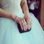 Lorinska Merrington's Round Cut Diamond Ring