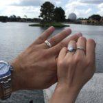 Katie Cazorla's Oval Cut Diamond Ring
