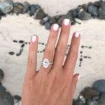 Elle Ferguson's 5 Carat Oval Cut Diamond Ring