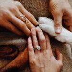 Jade Cara's Round Cut Diamond Ring