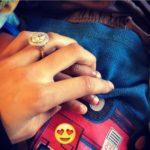 Ashley Moss' Round Cut Diamond Ring