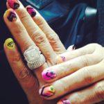 DJ Eque's Square Shaped Diamond Ring