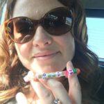 Sarah Drew's Round Cut Diamond Ring