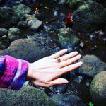 Anna Trebunskaya's Round Cut Sapphire Ring