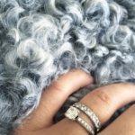 Sofie Granqvist's Round Cut Diamond Ring
