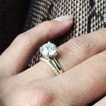 Carissa Rae's Round Cut Diamond Ring