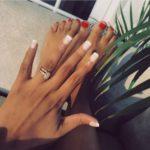 Linda Mtoba's Oval Cut Diamond Ring