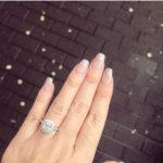 Alyssa Terry's Cushion Cut Diamond Ring