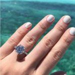 Kimi Yap's Round Cut Diamond Ring