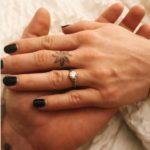 Lux Wright's Round Cut Diamond Ring