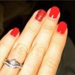Erica Brecher's Round Cut Diamond Ring