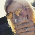 Sarah Jayne Dunn's Round Cut Diamond Ring