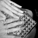 Heidi Klum's 3 Carat Cushion Cut Teal Sapphire Ring
