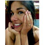 Sarah Roberts' Round Cut Diamond Ring