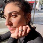 Kiley Casciano's Round Cut Diamond Ring